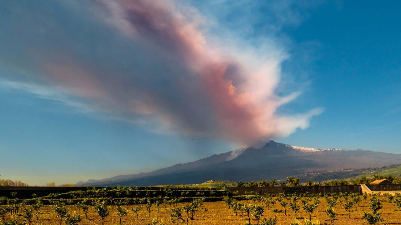 Etna Eruption 09.02.2021